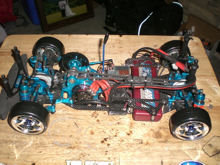 Ta05 Vdf 2 : Tamiya ta ver ii eagle racing conversion vdf r c tech