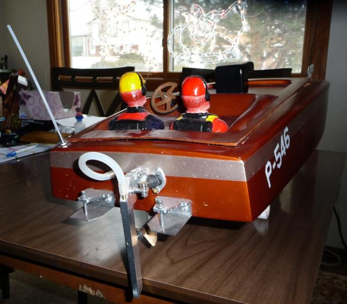 FS or FT 1/6 scale crackerbox boat - R/C Tech Forums