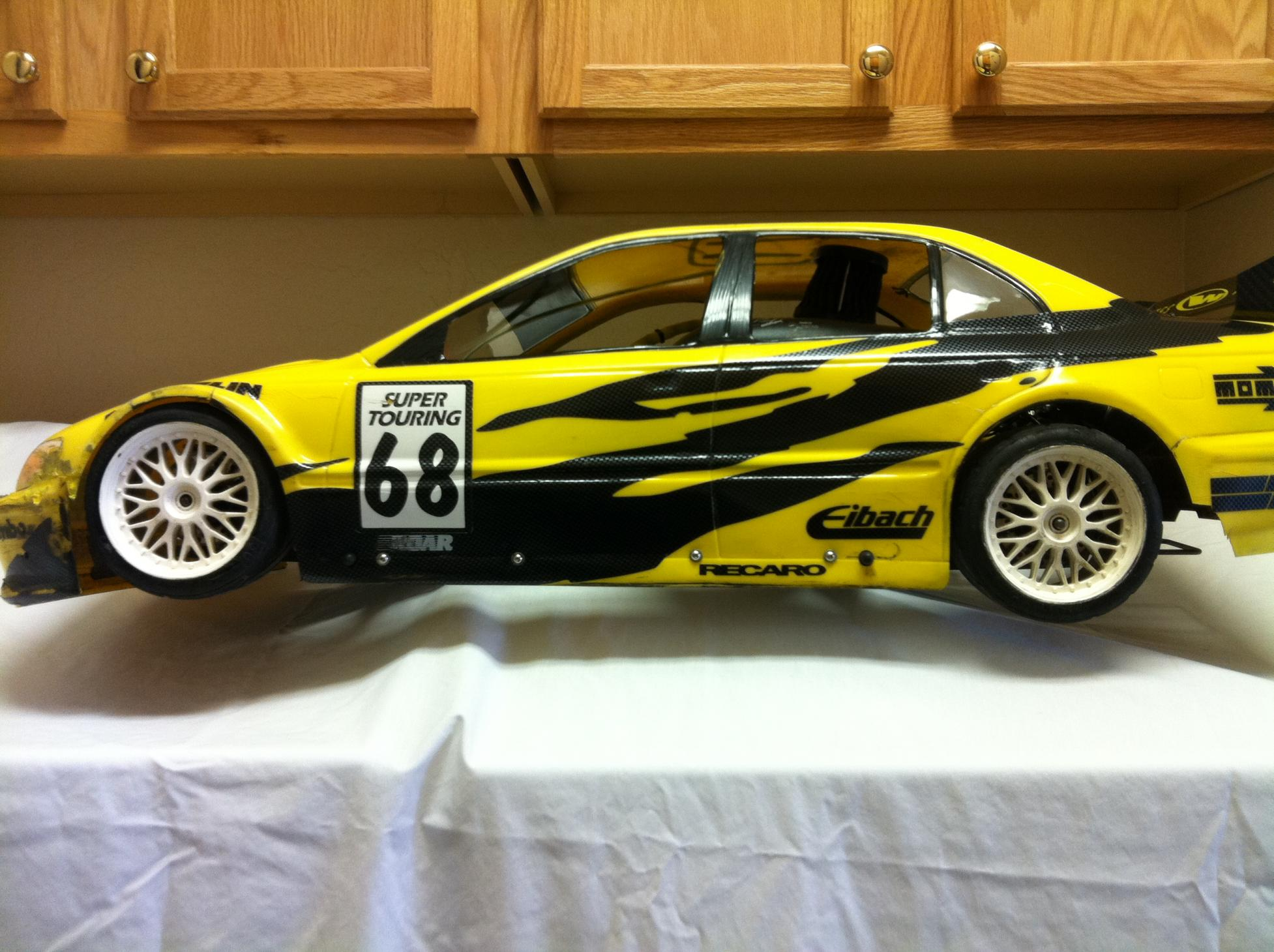 1 5 scale fg rc gas competition evo full carbon race car. Black Bedroom Furniture Sets. Home Design Ideas