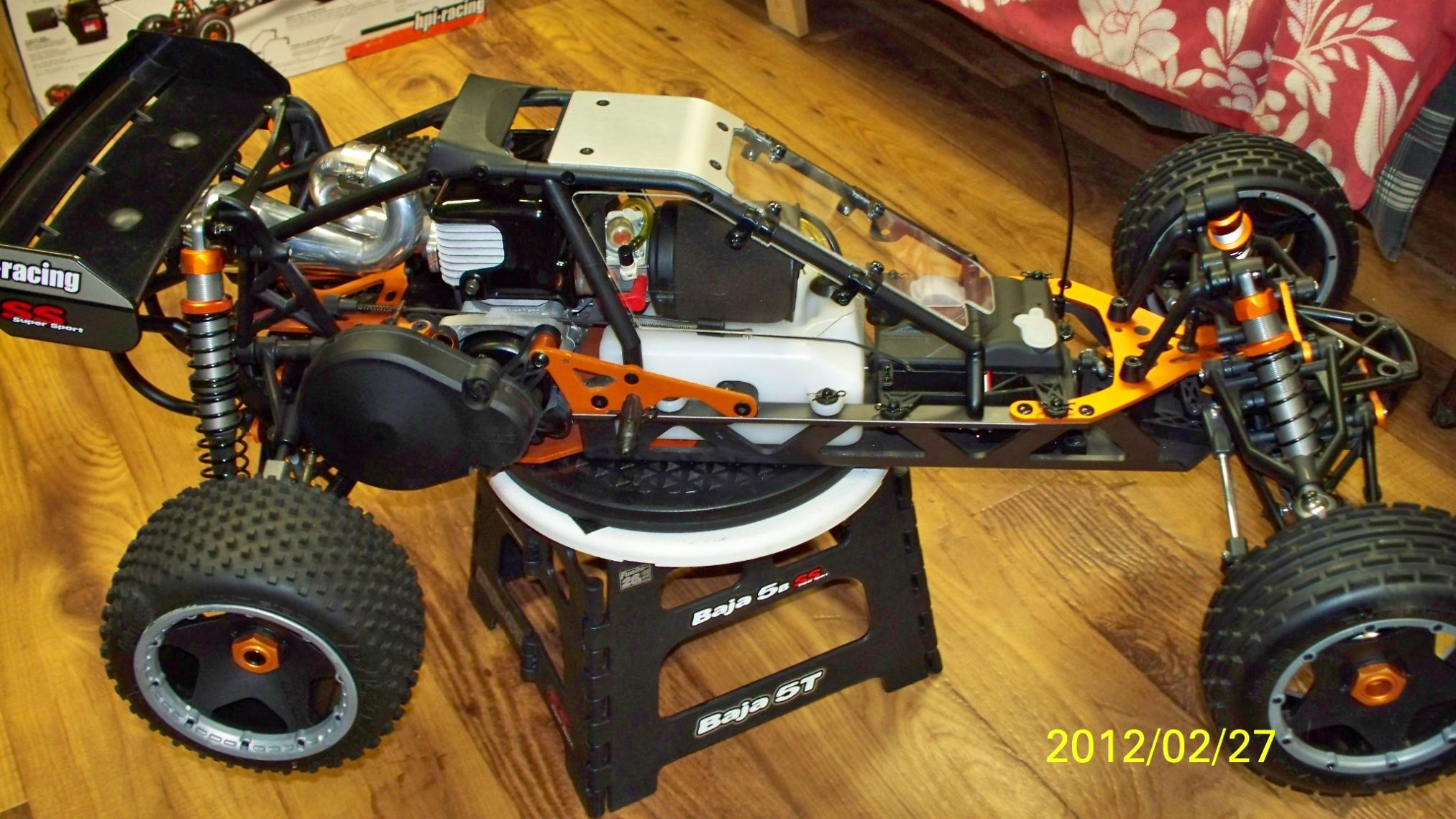 HPI Baja 5B SS New never had Gas in the tank. - R/C Tech ...