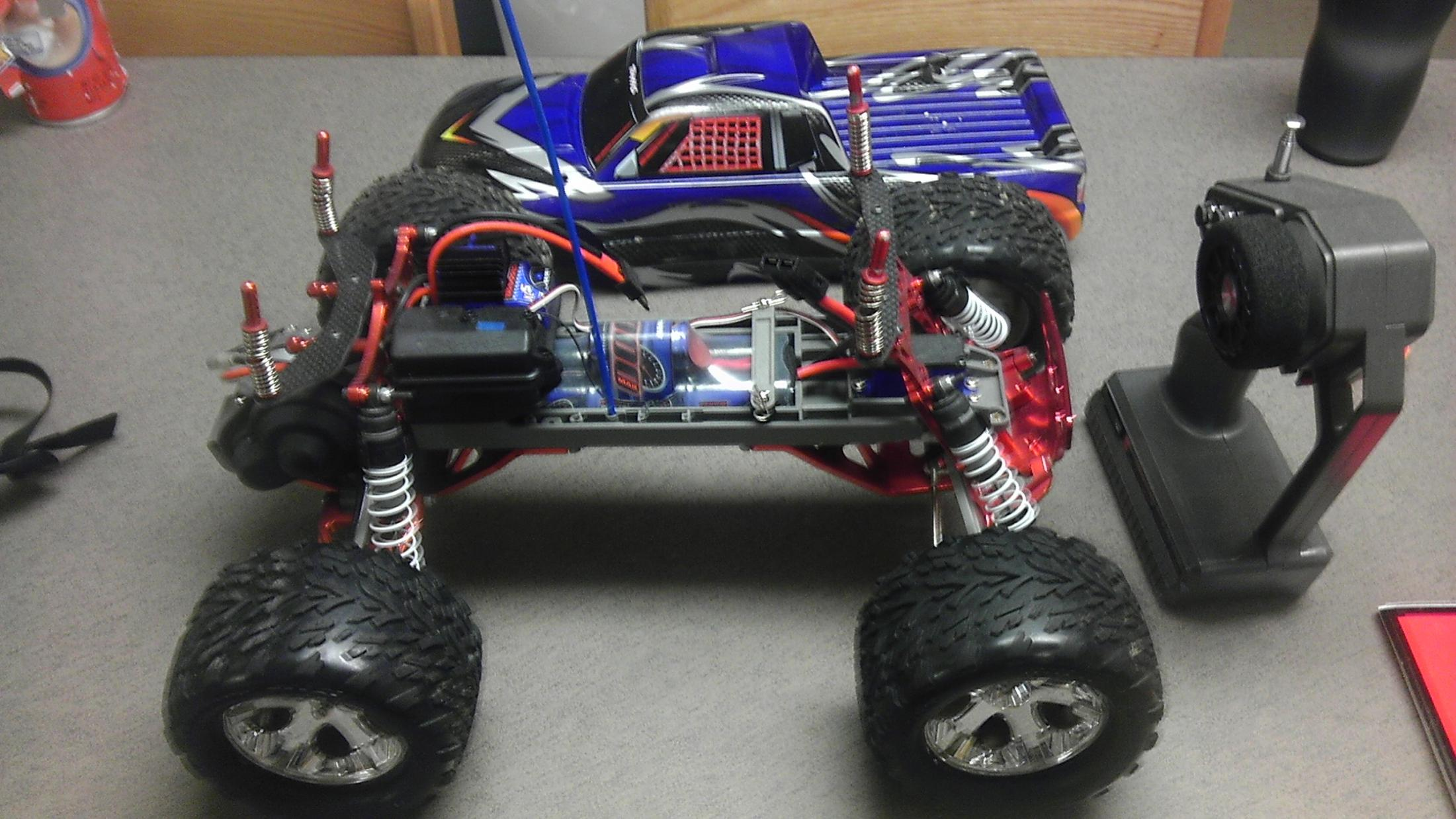 Traxxas Stampede Waterproof XL5 Alum Upgrades