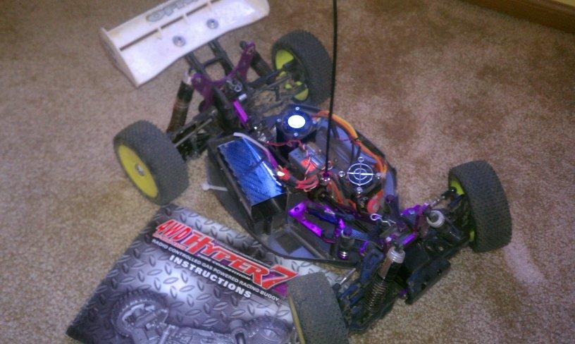 1 8 Scale Electric Buggy Ofna Hyper 7 Novak Hv Brushless