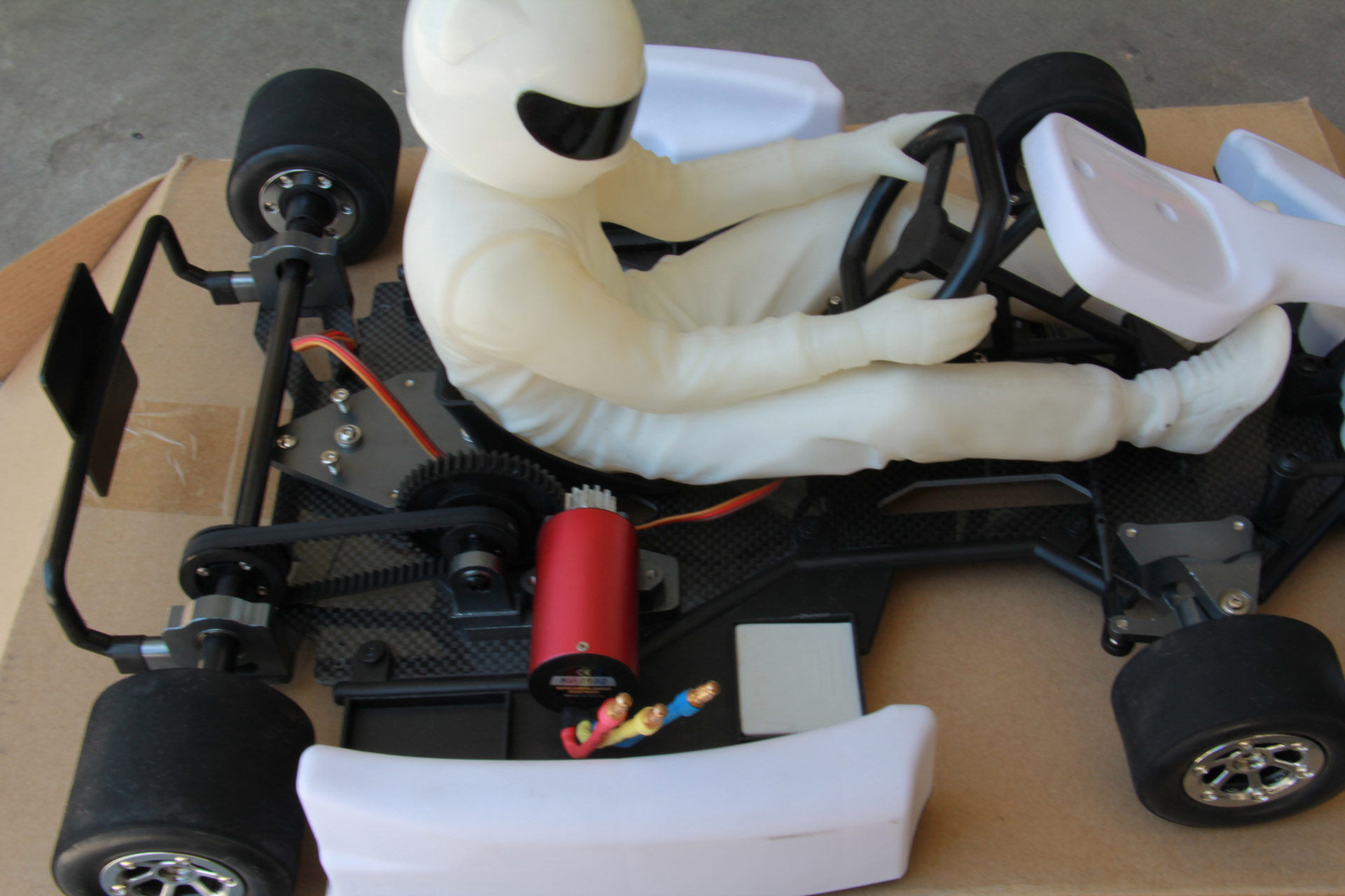 1 24 Scale Go Kart http://www.rctech.net/forum/r-c-items-sale-trade/633168-turnigy-1-4-scale-go-kart-arr.html