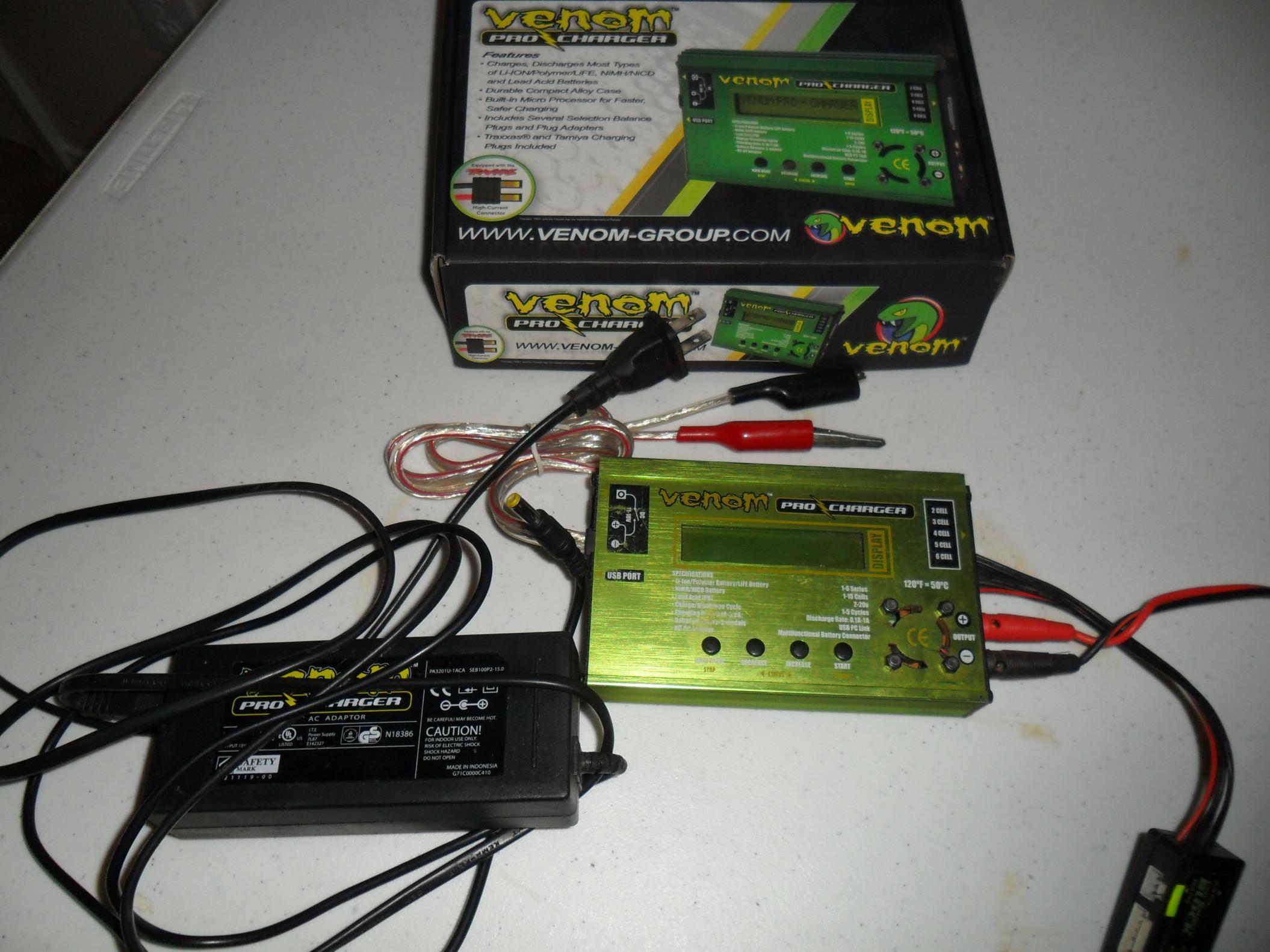 Thunder Power Charger Thunder Power 10 Amp Ac Dc Balance
