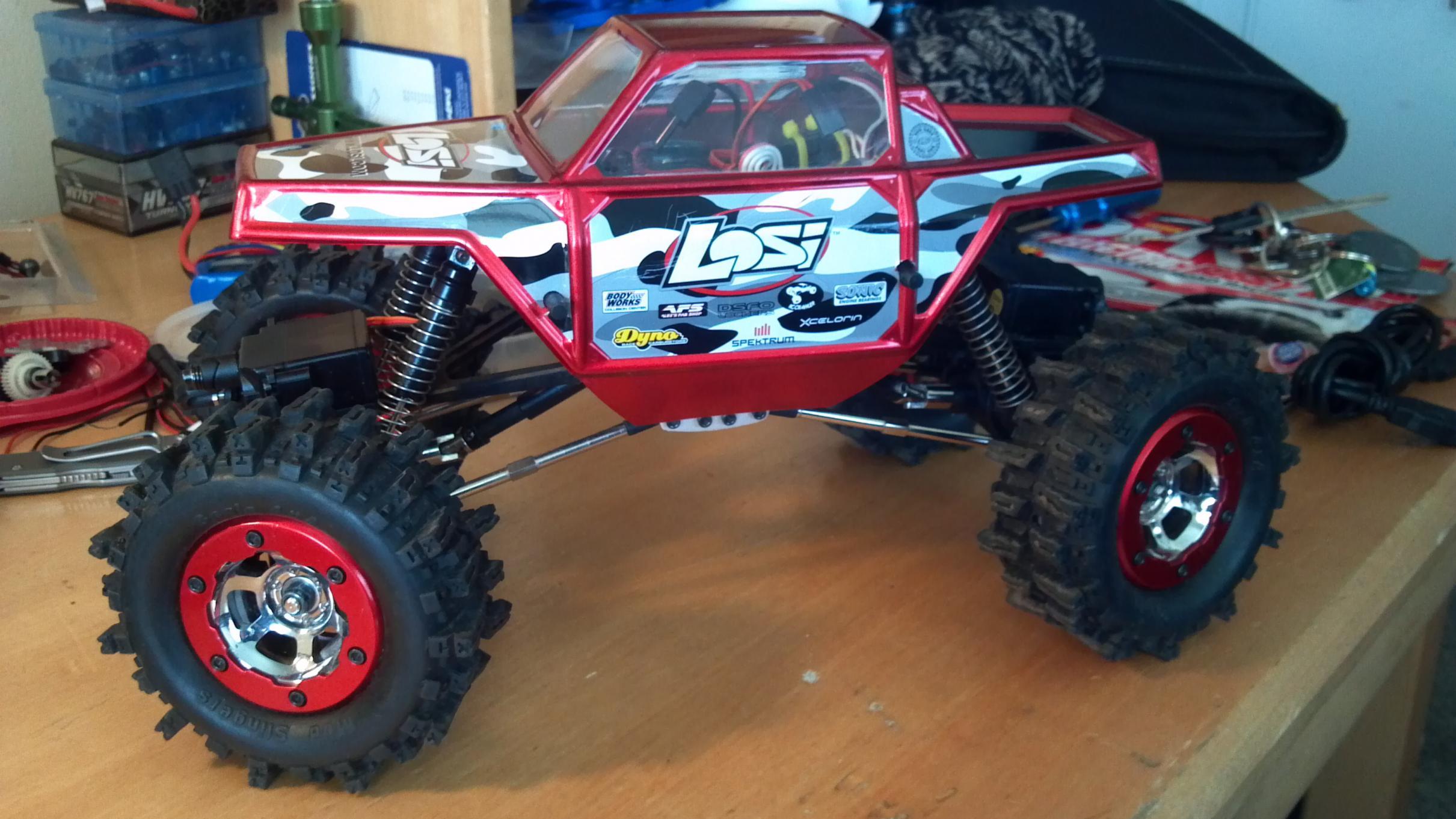 2012 06 artr losi mini crawler with 4 wheel steering for sale