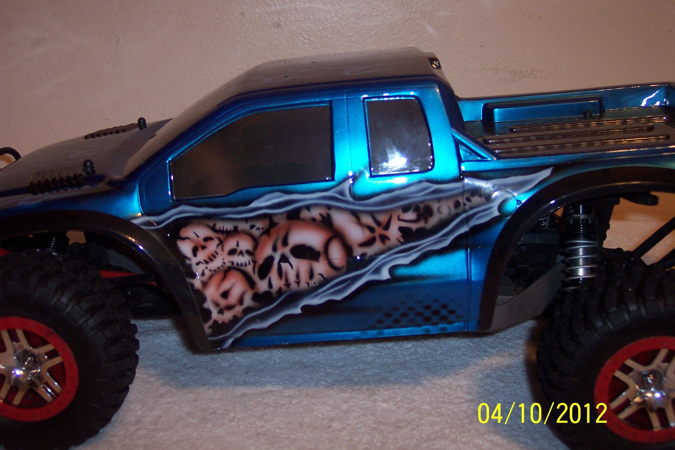 Ford Raptor For Sale >> SLASH BODY CUSTOM PAINTED NEW F-250 - R/C Tech Forums