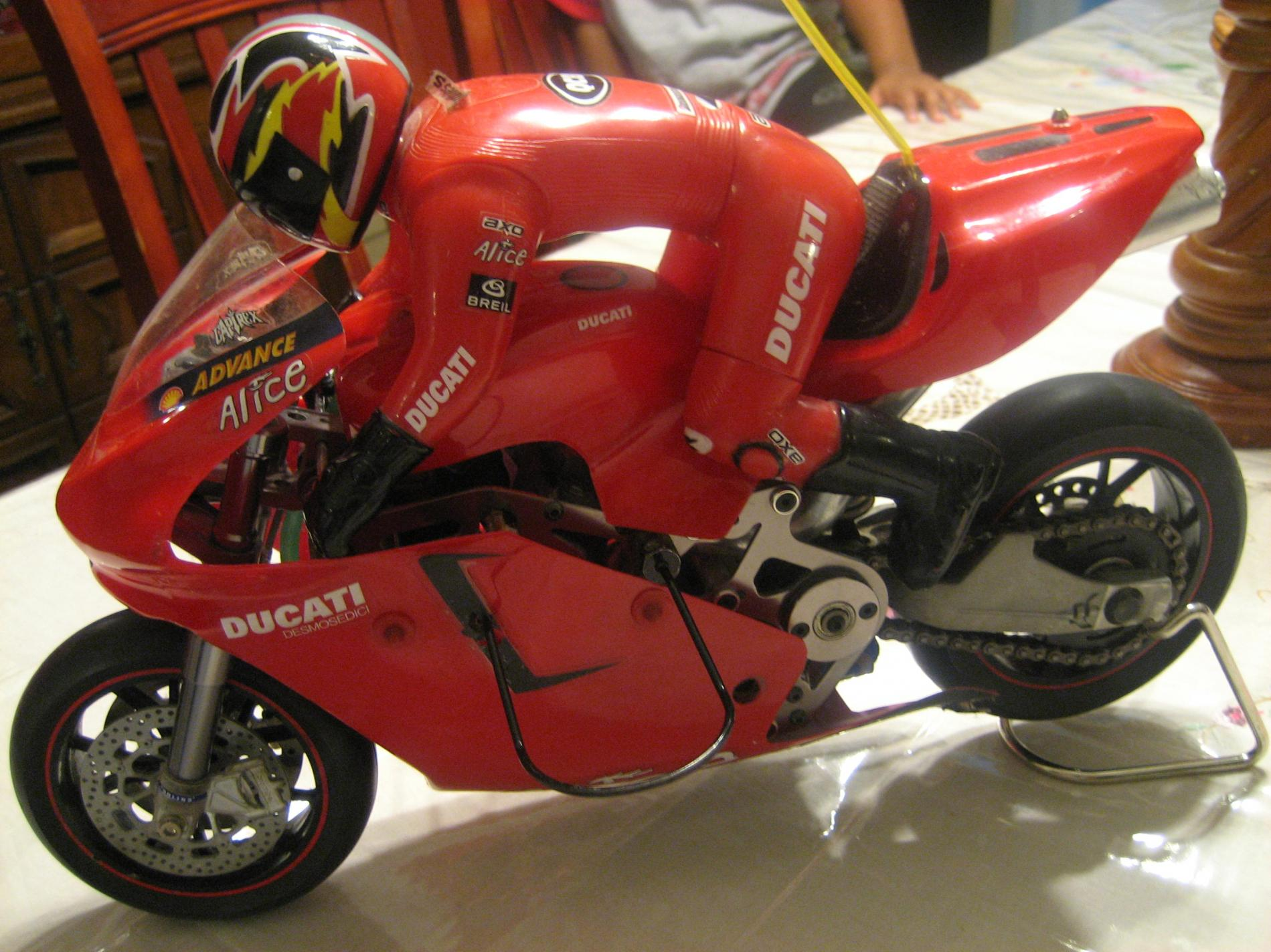 red thunder tiger ducati 999r nitro motorcycle - r/c tech forums