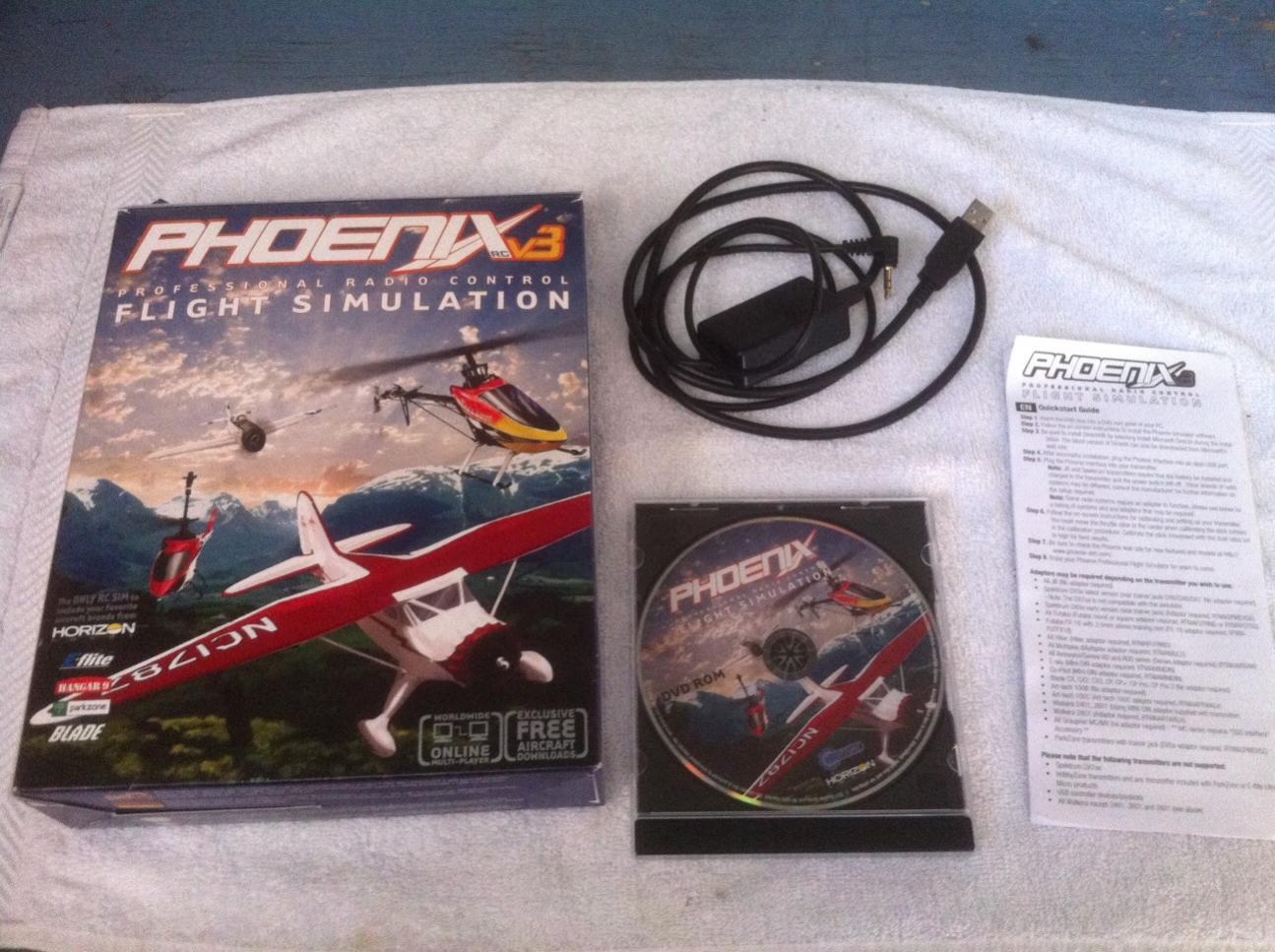 Phoenix flight simulator for sale / Mad greek lawrence ks
