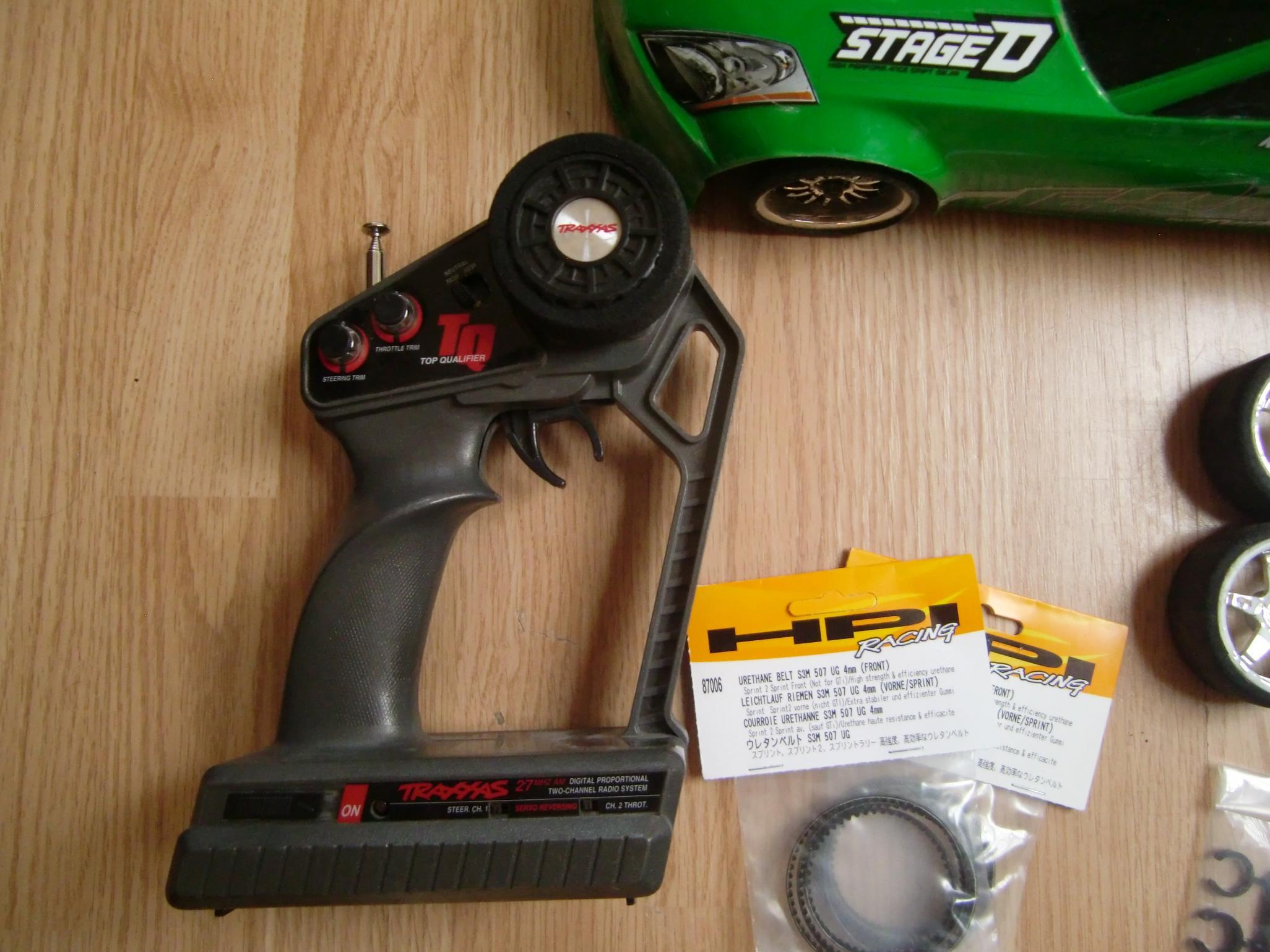 - Neu LEICHTLAUF RIEMEN S3M 507 ;4mm VORNE//SPRINT HPI Sprint 2 DRIFT 87006