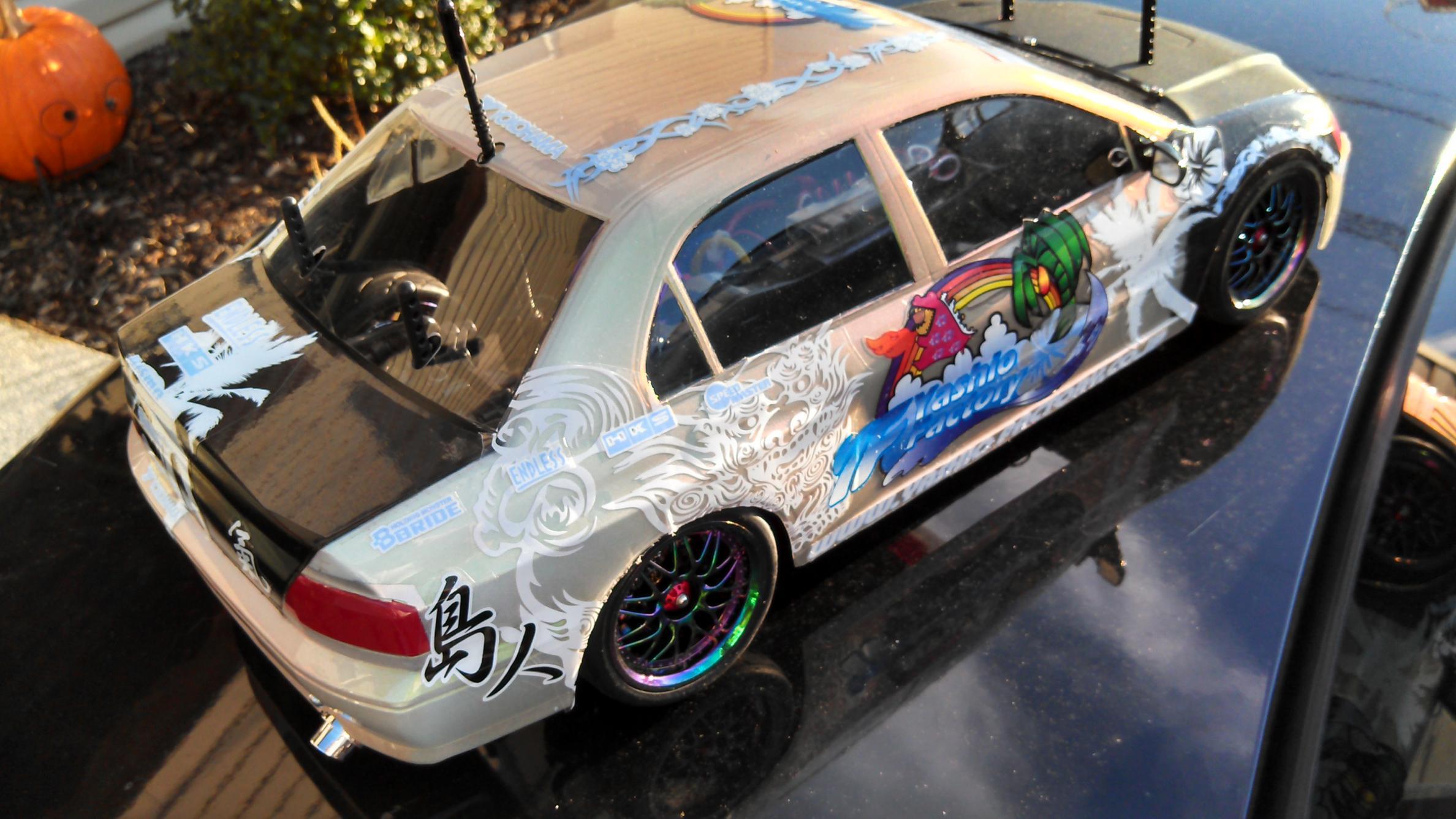 Fs Tamiya Tb 01 Evo With Yokomo Bits Drift Car Or Tc