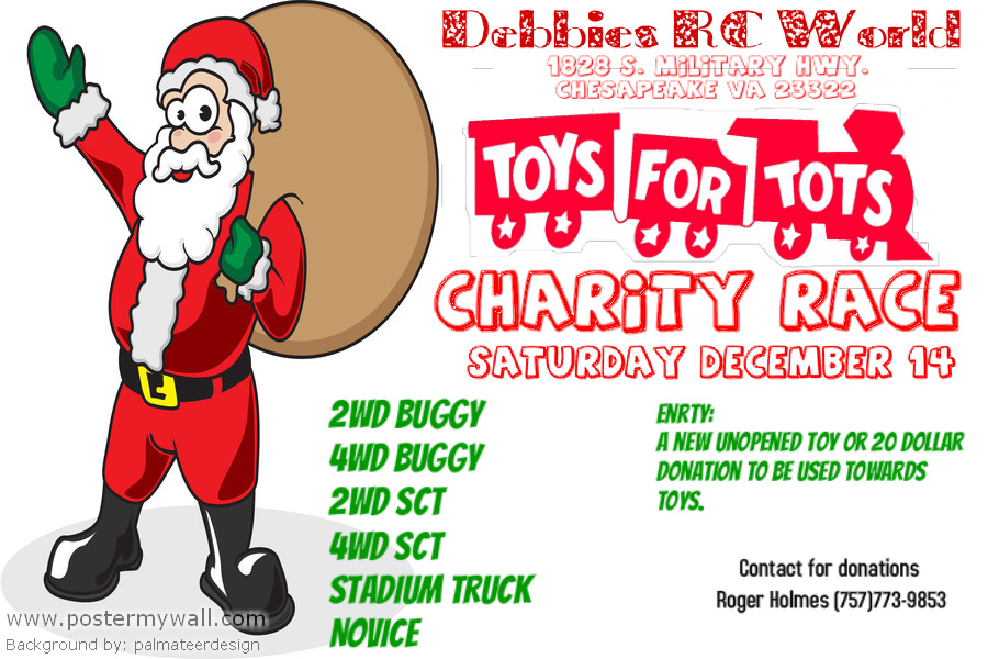 Toys For Tots Charity : Drcw toys for tots charity race r c tech forums