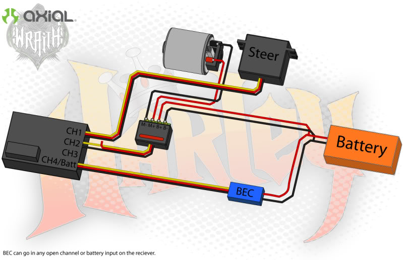 bec for rc car wiring diagram manual e books DIY RC Car Streering bec for rc car wiring diagram
