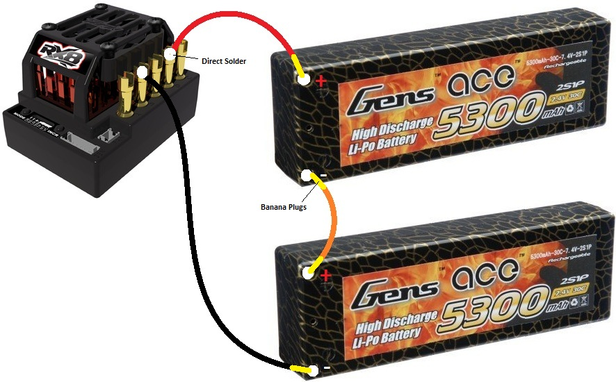 Tekin ESC - Gen Ace Lipo Direct Wiring - R/C Tech Forums