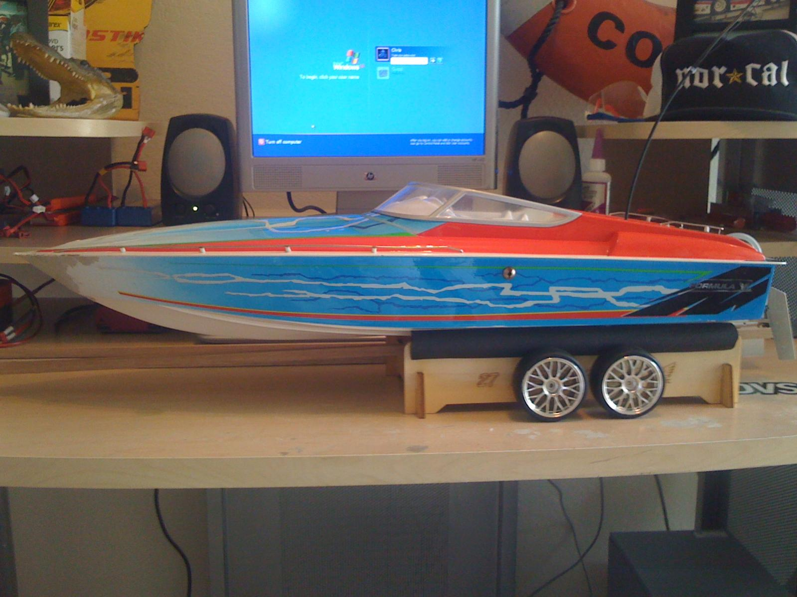 build a gas rc boat from scratch ~ free fishing boat plans plywood