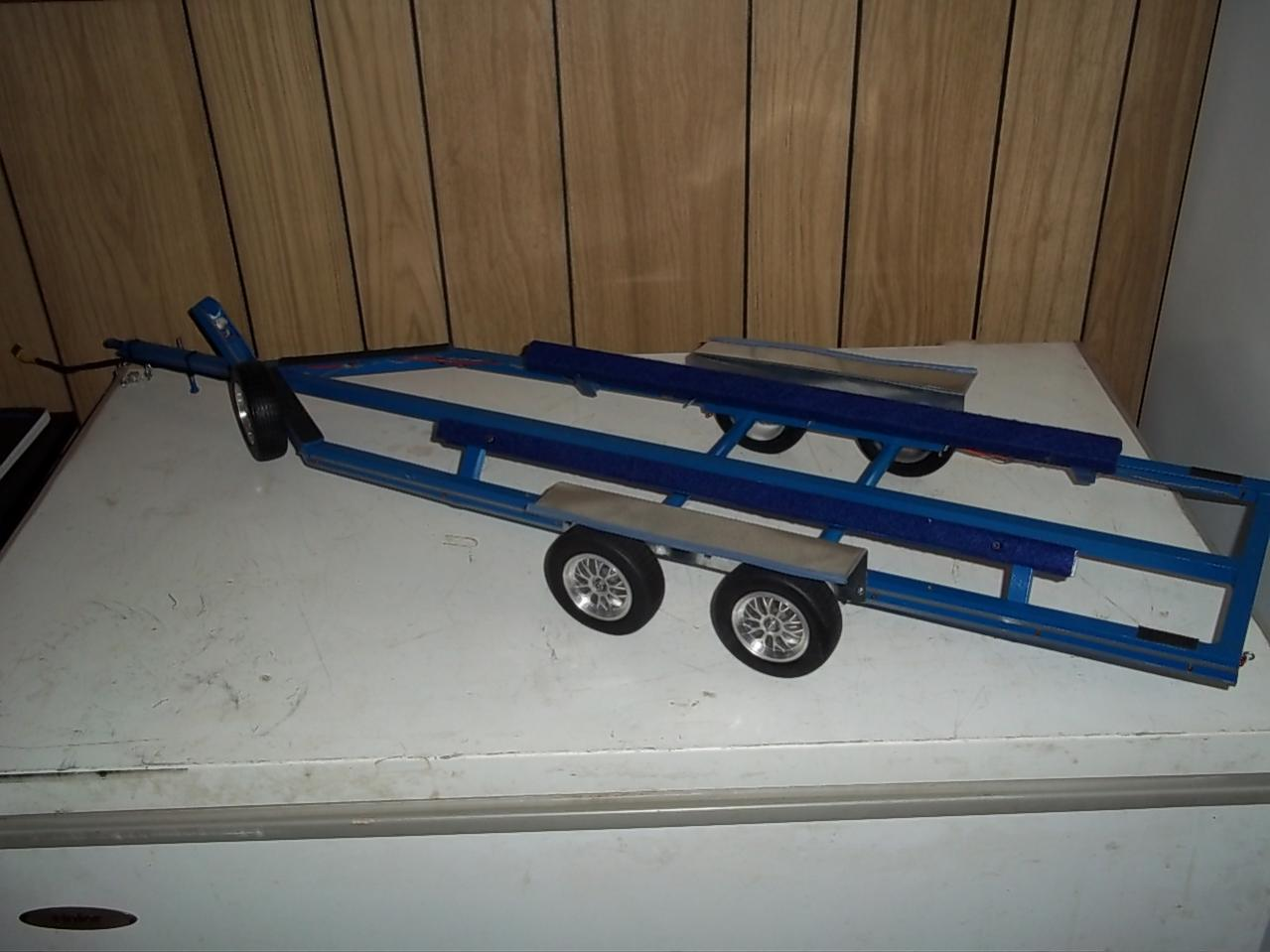 build rc boat trailer ~ traditional wooden boat building plans