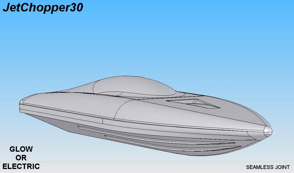 JetChopper30 mono deep v hull FRP - R/C Tech Forums