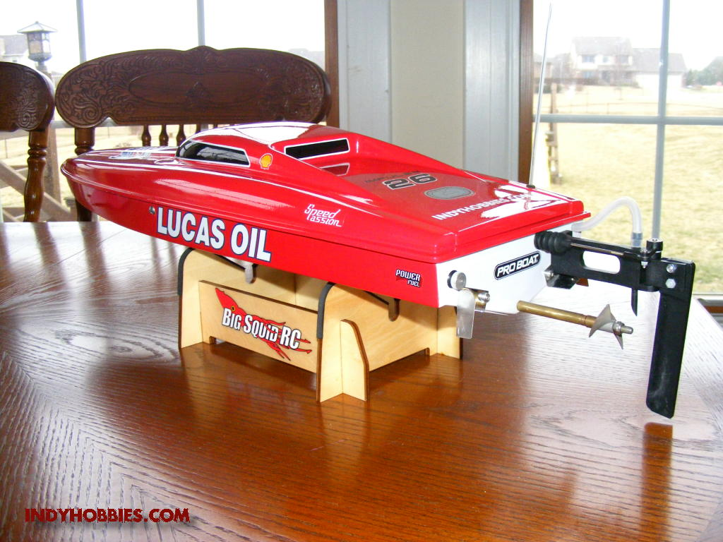 Lucas oil superboat from proboat impulse 26 rc groups for Rc electric motor oil