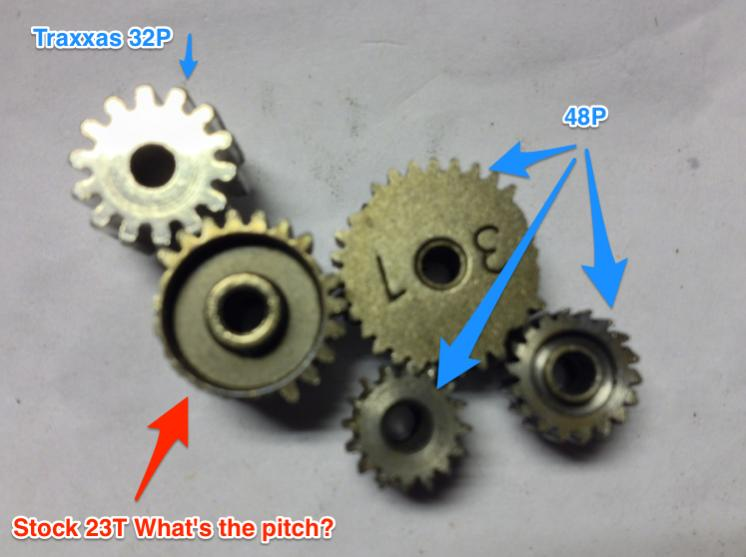 What S The Pitch Of This Pinion Gear Exceed Terrain 10