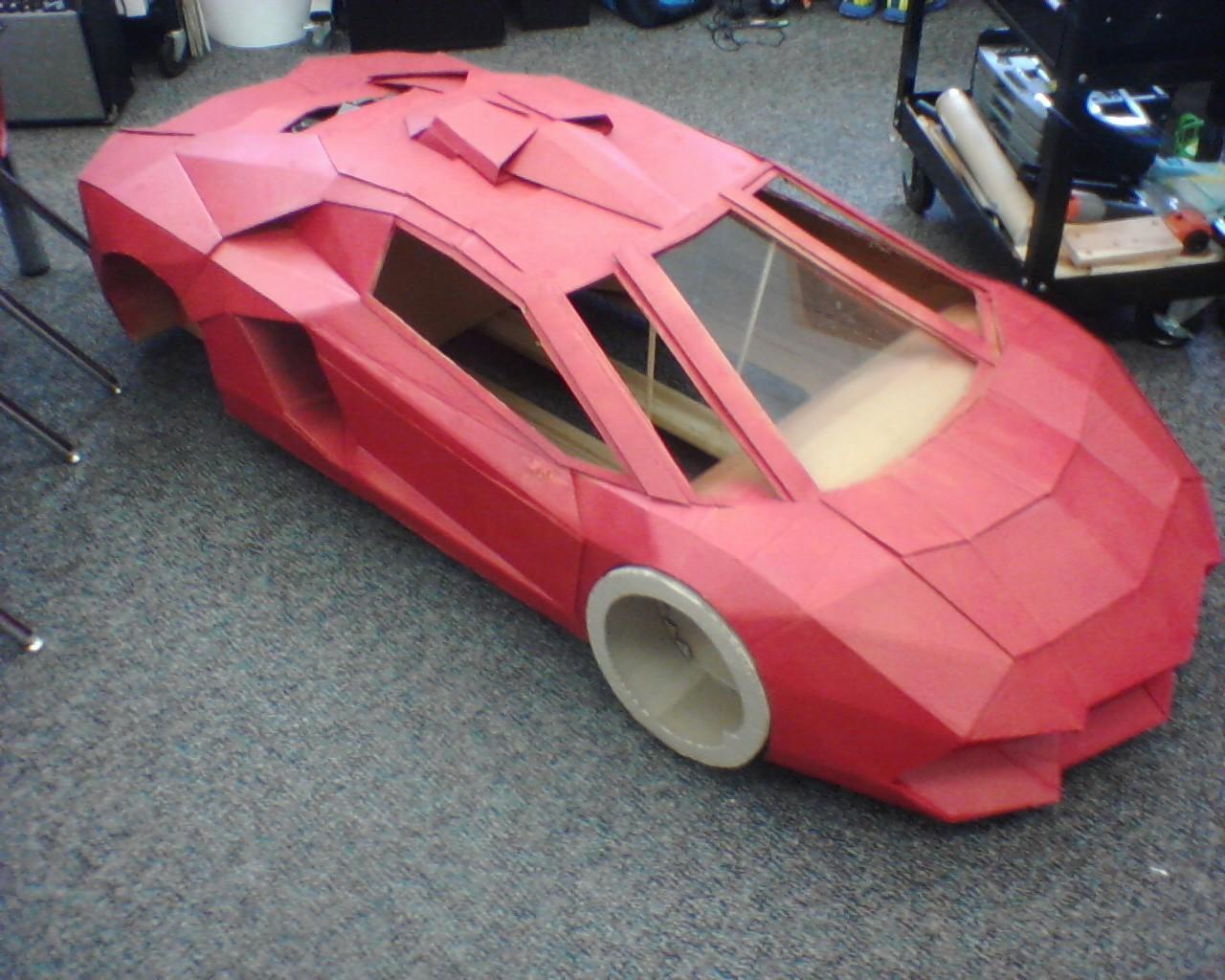 Cardboard Lamborghini R C Tech Forums