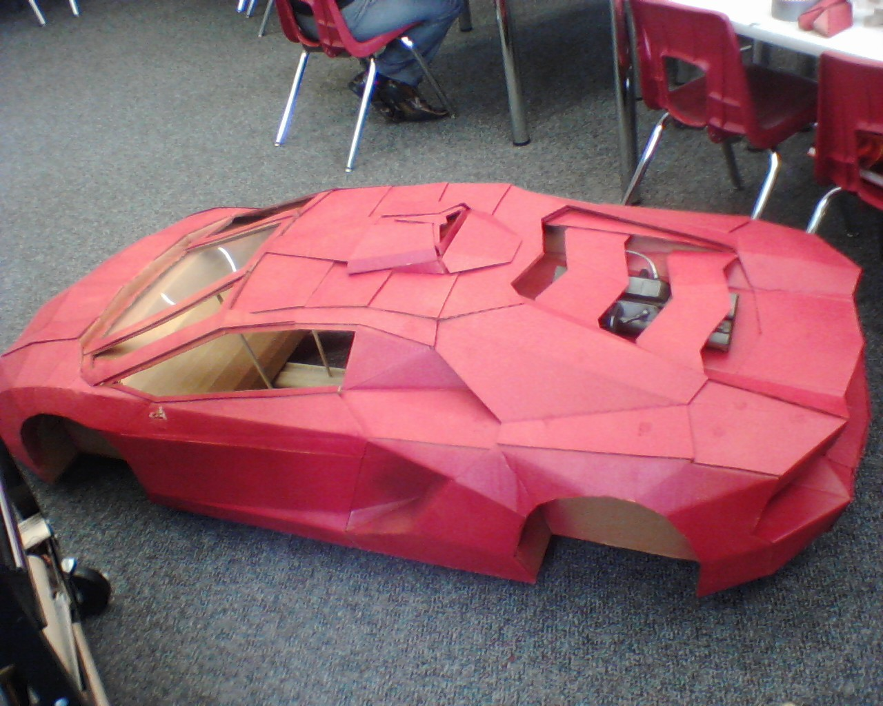 Cardboard Lamborghini R C Tech Forums