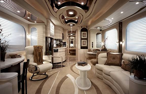 Luxury Bus Interior Luxury bus interior luxury bus