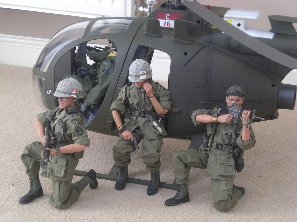 Ultimate Soldier AH-6 Little Bird Helicopter by 21st ...
