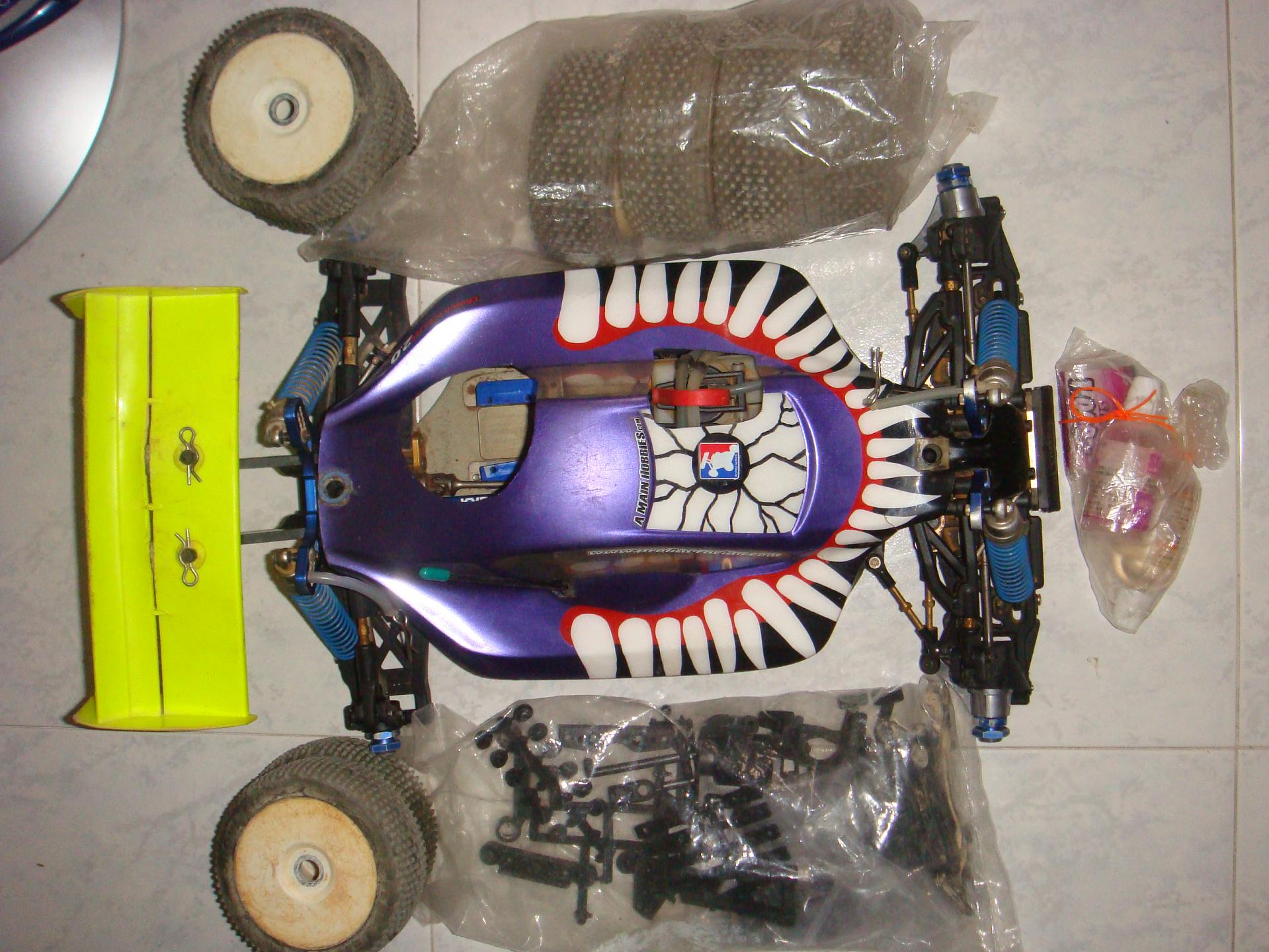 Kyosho 1/8 MP777WC & Futaba 3PM Tx rx - R/C Tech Forums