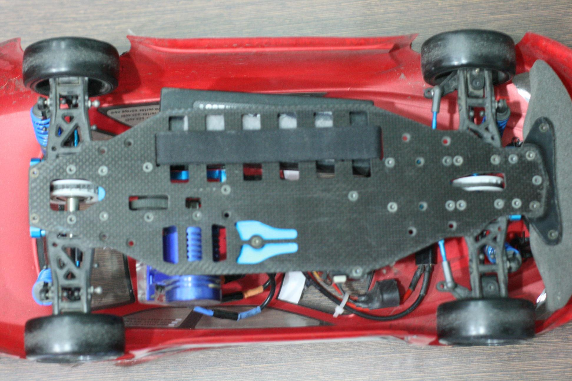 Trf: WTS : 1/10 Tamiya TRF 415 RTR With Sanwa Transmiter And