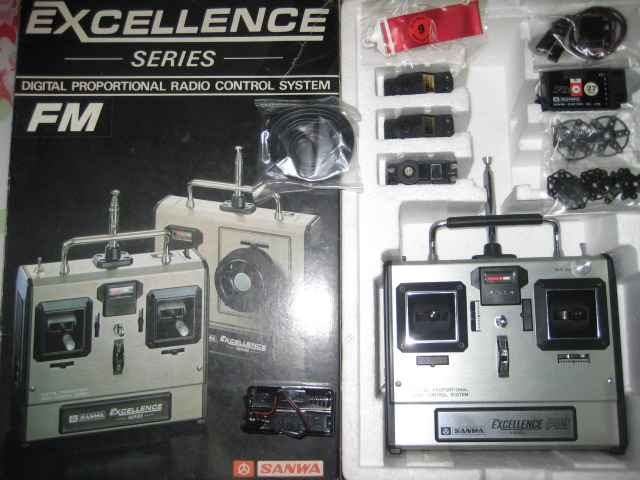 Wts Sanwa Mx 3s Excellence Series Tx Rx Chargers R C