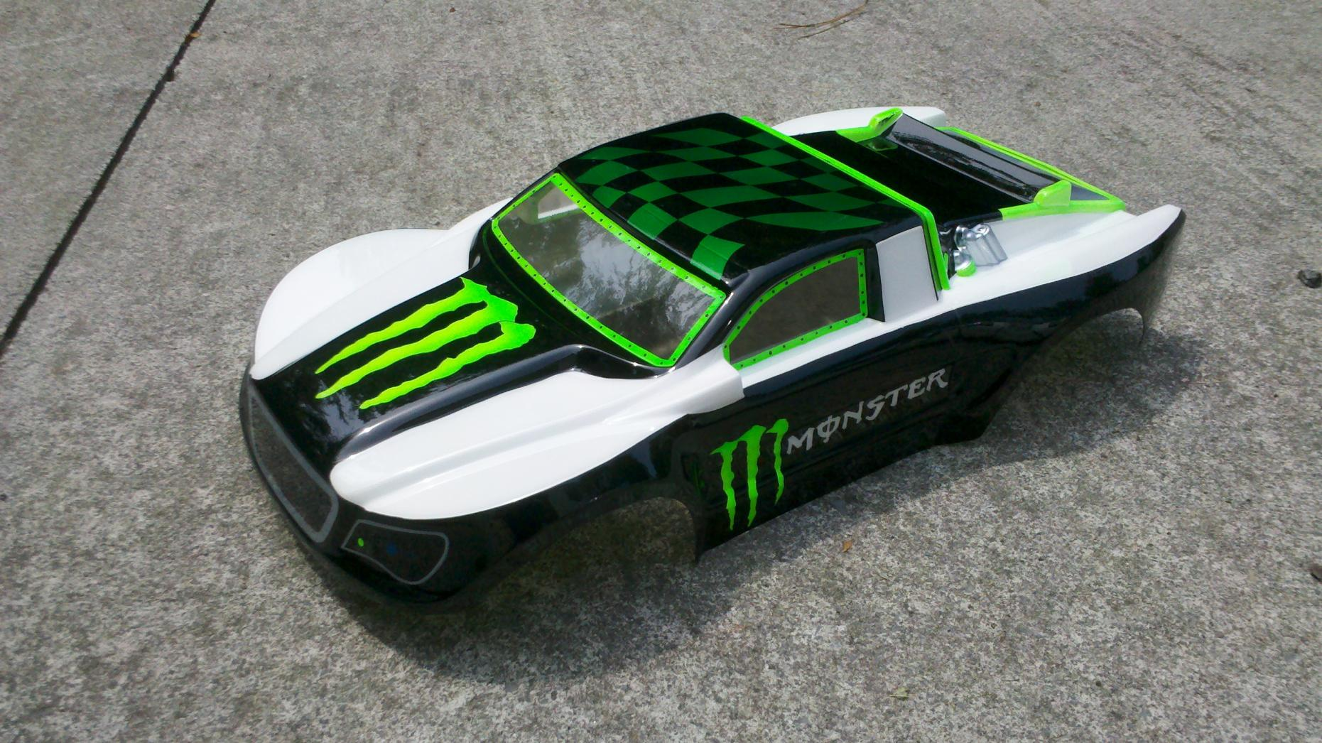 How To Custom Paint An Rc Car Body