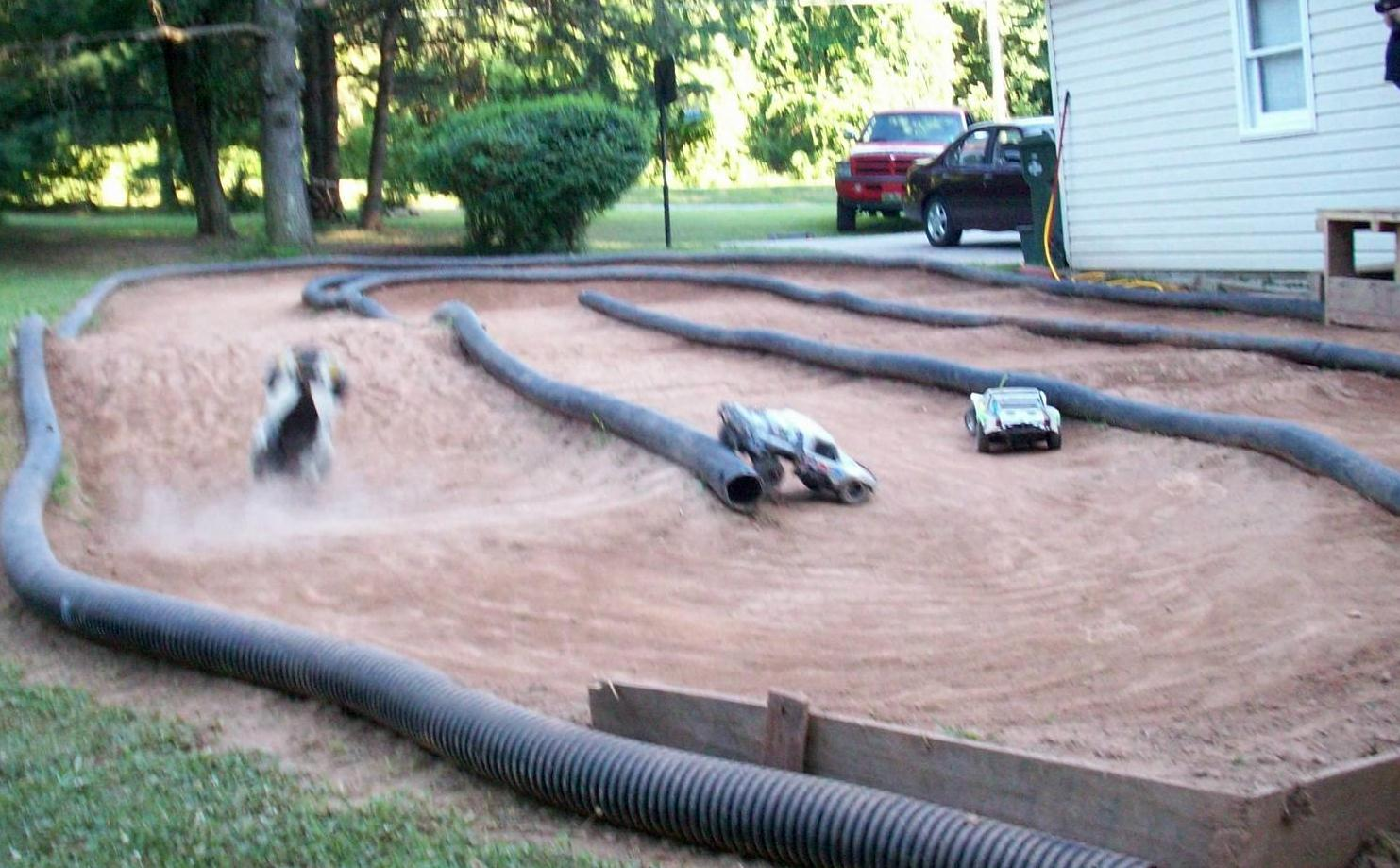 outdoor rc track design bing images