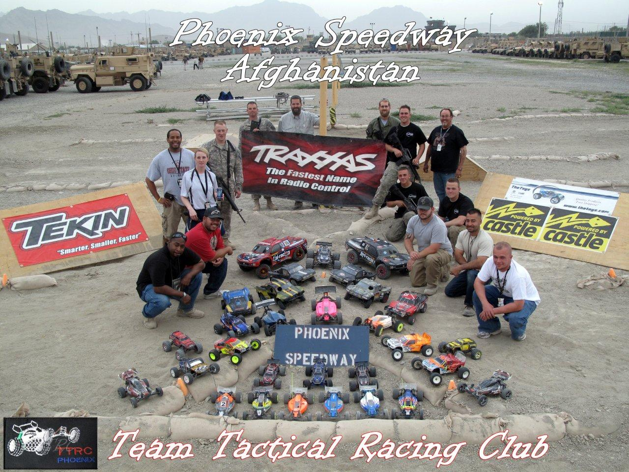 Rescue Racing Morale Park In Bagram Afghanistan New Track