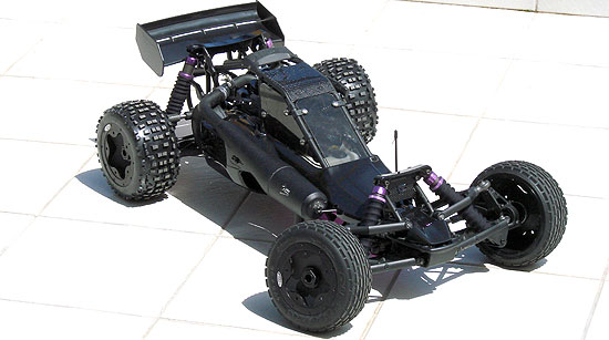 my heavily modded 'stealth' Baja 5b before I sold it