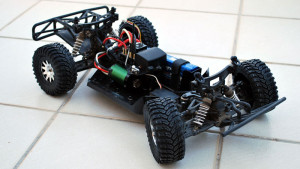Hong Nor (OFNA) Jammin SCRT10 with HPI wheels and tires and a Proline Ford Raptor body