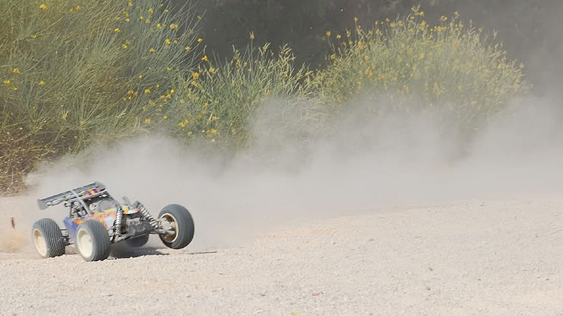 Smartech Thunderbolt prototype in full sideways action!