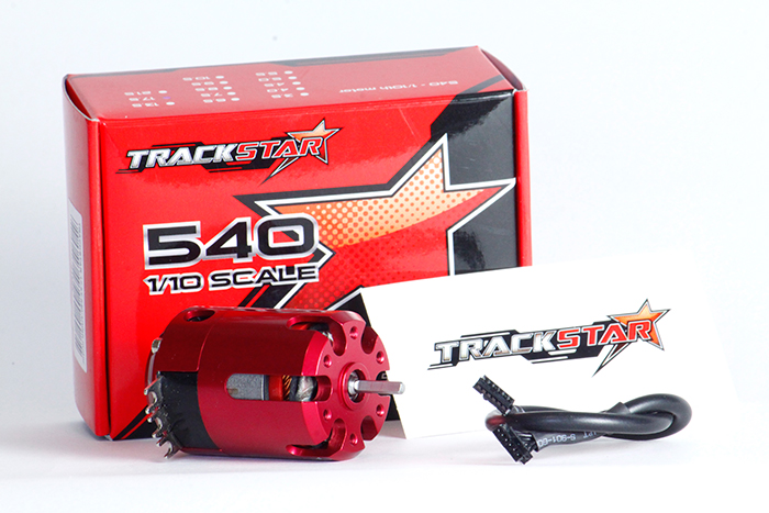 TrackStar 540 1/10 scale Brushless Motor