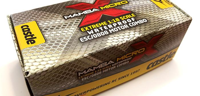 Castle Creations MAMBA MICRO X 1:18 scale Waterproof ESC/0808 Motor combo