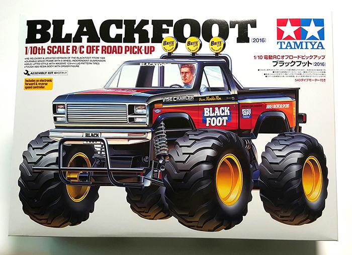 old or new tamiya blackfoot 2016 reviewed