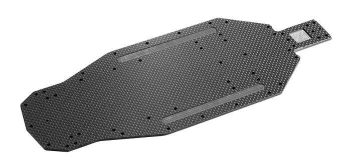 All New Graphite Chassis – Improves traction on carpet and dirt