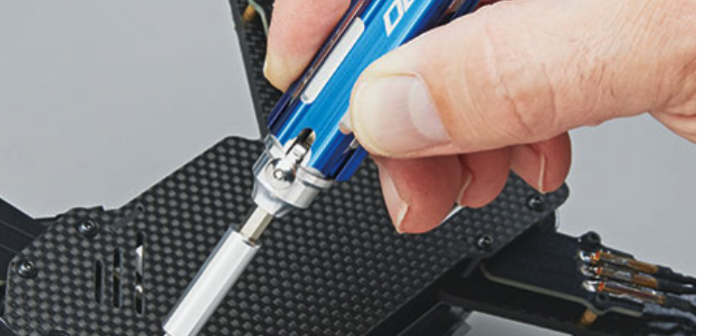 One pocket-sized tool drives 32 fastener sizes and types