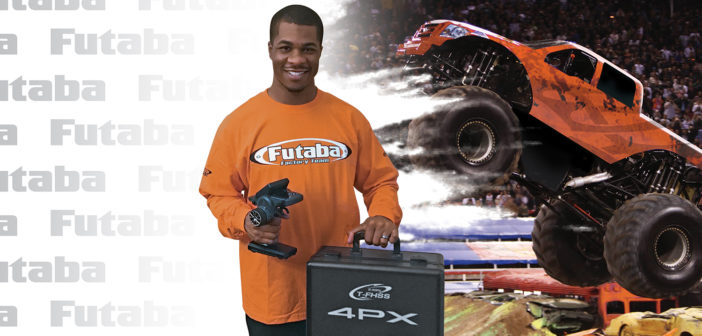 Professional Monster Truck Driver Bari Musawwir Joins Team Futaba