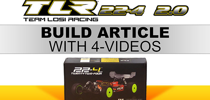 Racing Series 1B: TLR 22-4 2.0 (build)