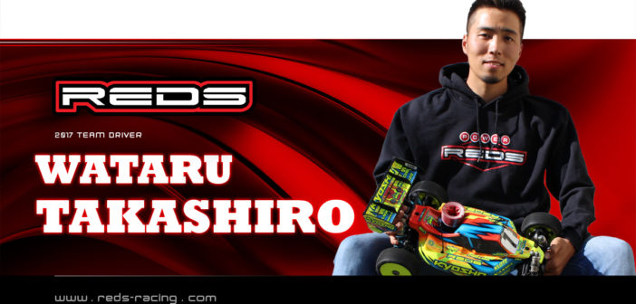 Wataru Takashiro Joins REDS Racing!