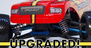 Level Up Time!  Dromida Brushless Monster Truck gets upgraded even more