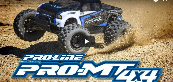 Pro-Line PRO-MT 4×4 – See it in action!