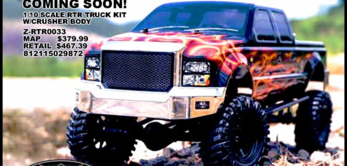 All New RC4WD Terrain RTR Truck Kit w/Crusher Body Set Coming Soon!