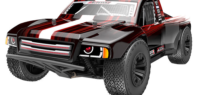 Team Redcat announces its first 4wd short course truck, the TR-SC10E