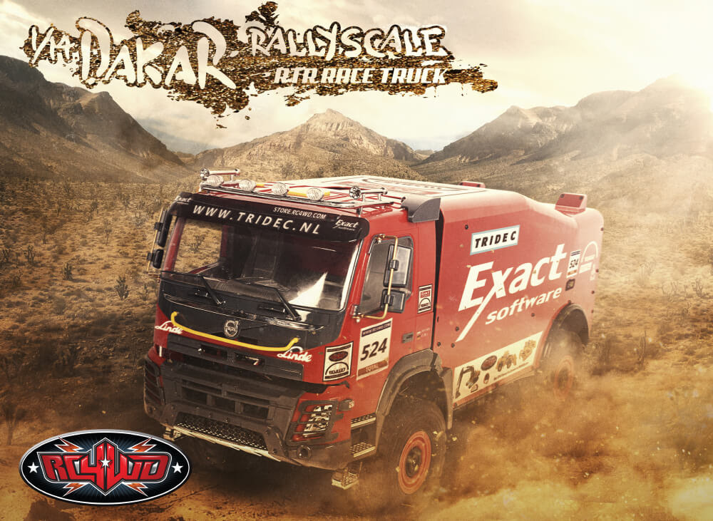 1/14 DAKAR Rally Scale RTR Race Truck – It\'s only 23lbs!?