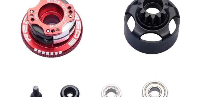 REDS Racing Clutch retainer and new bearing for Tekno/Losi