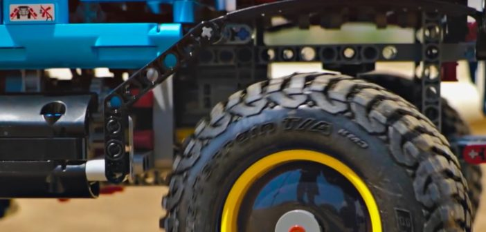 Lego Technic with Pro-Line Tires